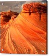 Glowing Desert Dragon Acrylic Print