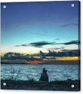 Glowing Horizon Acrylic Print