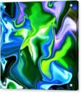 Glowing Stem Acrylic Print