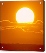 Glowing Sunball Acrylic Print