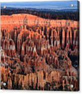 Glowing Sunrise In Bryce Canyon Acrylic Print