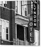 Glyndon Hotel Acrylic Print