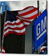 Gm Flags Acrylic Print