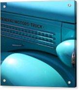 Gm Truck Acrylic Print