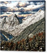 Gnadenwald In Autumn Acrylic Print