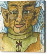 Gnarlsworth Gnome Acrylic Print