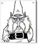 Gnome Acrylic Print