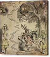 Go Ask Alice Acrylic Print