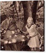 Go Ask Alice Acrylic Print