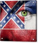 Go Mississippi Acrylic Print