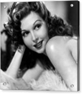 Go West Young Lady, Ann Miller, 1941 Acrylic Print by Everett
