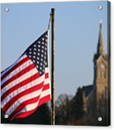 God And Country 2 Acrylic Print