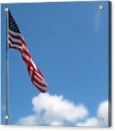 God Bless America Acrylic Print by Mg Blackstock