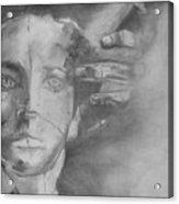 GOD Acrylic Print by Rebecca Tacosa Gray