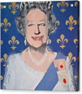 God Save The Queen Acrylic Print