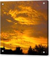 God Says Good Night Acrylic Print