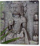 God Shiva Acrylic Print
