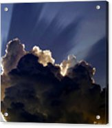 God Speaking Acrylic Print