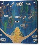 God Acrylic Print