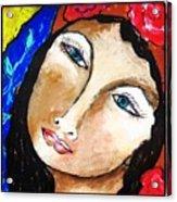 Goddess Bless Acrylic Print