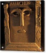 Goddess Hayyan Idol From The Temple Acrylic Print