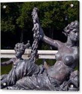 Goddess In Repose Acrylic Print