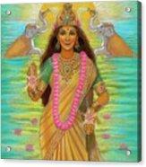 Goddess Lakshmi Acrylic Print