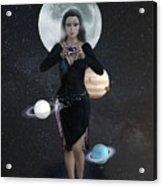 Goddess Nyx Acrylic Print