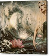 Goddess Of Bliss  Acrylic Print