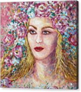 Goddess Of Good Fortune Acrylic Print