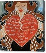 Goddess Of Grief Acrylic Print