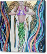 Goddess Of Intention Acrylic Print