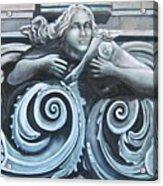 Goddess Of The Sea Acrylic Print