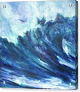 Goddess Of The Waves Acrylic Print
