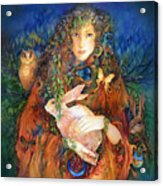 Goddess Ostara Acrylic Print