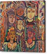 Gods And Angels Acrylic Print