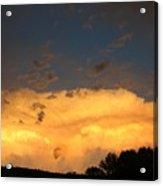 God's Answer To Rain Prayers Acrylic Print