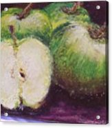 Gods Little Green Apples Acrylic Print
