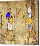 Gods Of Ancient Egypt Acrylic Print