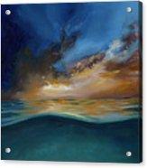God's Wave Of Love Acrylic Print