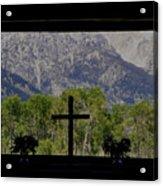 God's Window Acrylic Print