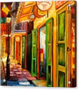Going Back To New Orleans Acrylic Print