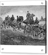 Going Into Battle - Civil War Acrylic Print