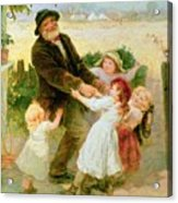 Going To The Fair Acrylic Print by Frederick Morgan