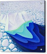 Going With The Floe Acrylic Print
