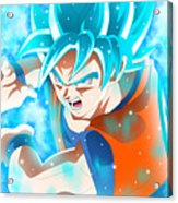 Goku In Dragon Ball Super  Acrylic Print