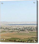 Golan Heights Acrylic Print