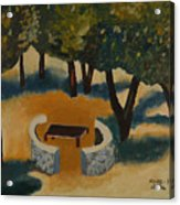 Golan Picnic Area   Acrylic Print
