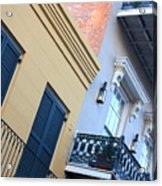 Gold And Gray In New Orleans Acrylic Print