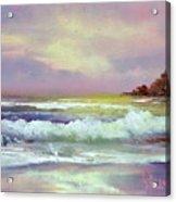 Gold Beach Acrylic Print